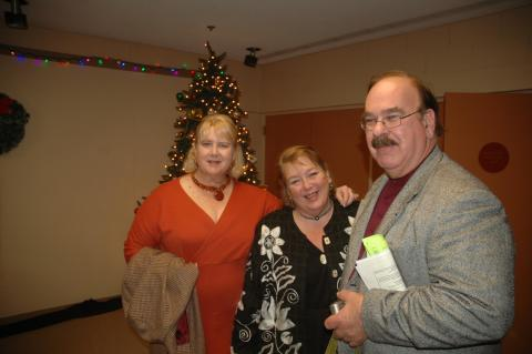 Debora, Sandra and Tom